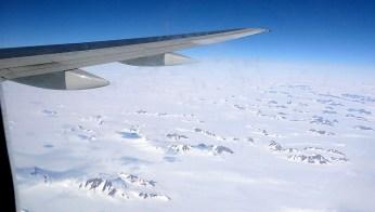 Grönland -Übrerflug Inlandeis 2007