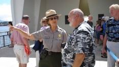 hawaii-Marinefrau seit ewig im Instruktionsdienst