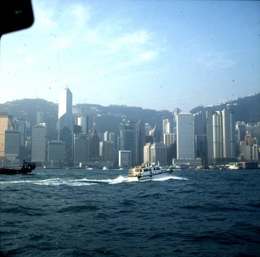 Hongkong-Fahrt nach Victoria 1997