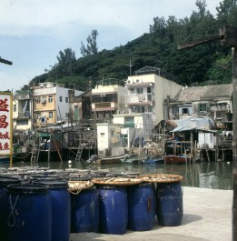 Hongkong-Newterritories Grenze 1997