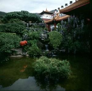 Hongkong-Oceanpark chin.Garten 1997