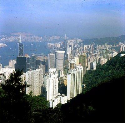Hongkong-Victoriapeak 1997