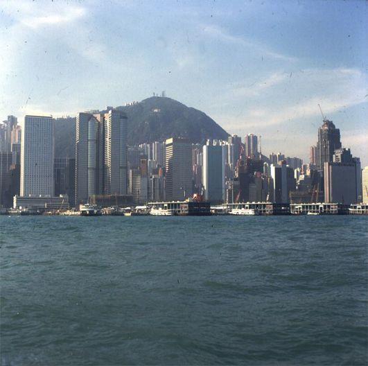 Hongkong-Victoria-Starferry 1997
