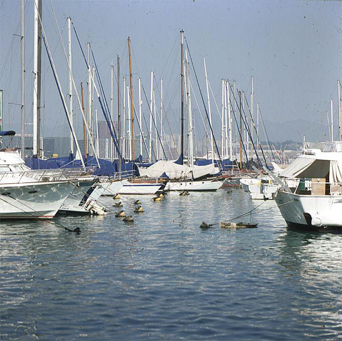 Hongkong-Luxusyachthafen 1997