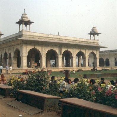 Indien-Delhi-Fort 1999