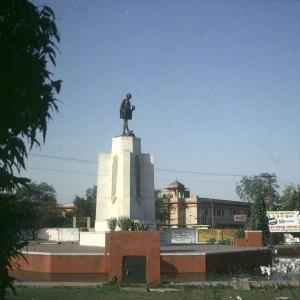 Indien-Delhi-Gandhidenkmal 1999