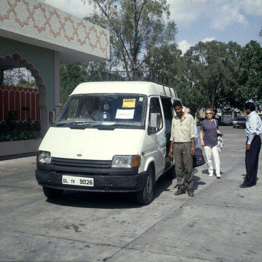Indien-Reisebus 1999
