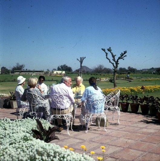 Indien Picknick Rückfahrt 1999