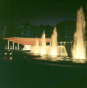 las-vegas- Wasserspiele vor Caesars Palace