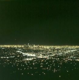 los-angeles-nacht blick zur city