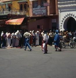 Marokko-Fes- Moschee-1995