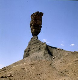 Namibia Finger Gottes - steht heute nicht mehr 1987