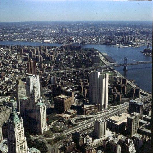 new-york-Blick auf Chinatown 1994