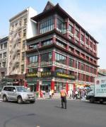 new-york-Chinatown - noch Polizist auf der Kreuzung 2003