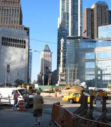 new-york-Baulücke für neuen Trumptower 2003