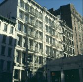 new-york-Feuerletern in Soho 1994