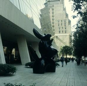 new-york-Moderne Kunst im Hiltonviertel 1994