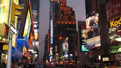 new-york-Timessquare- Bilder in allen Formaten 2003