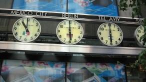 new-york-Gleiche Uhrzeit wie Tel Aviv 2003