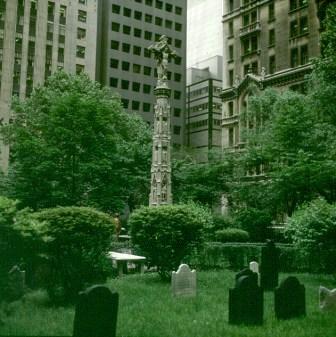 new-york-Trinitychurch Friedhof 1988
