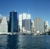 new-york-Wallstreetviertel mit Pier 17 1994