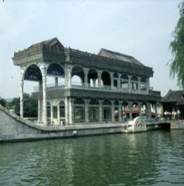 Peking-Sommerpalast Steinschiff 2000
