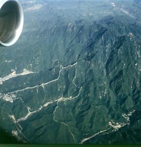 Peking-Chin.Mauer von oben 2000