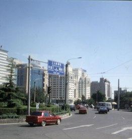 Peking-Innenstadt-leer 2000