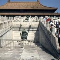 Peking-Kaiserpalast-Palastaufgang 2000