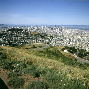 san-francisco-Blick vom twinpeak
