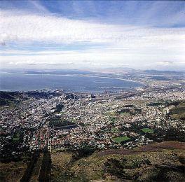suedafrika-Panoramablick Kapstadt 1987