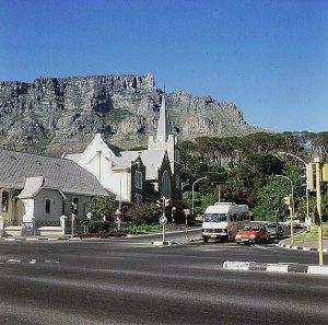 Suedafrika-vor Tafelberg Kapstadt 1987