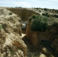 Tuniesien Matmata Wüstenhotel 1980