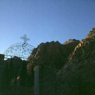 aegypten-sinai-klostergartentor 1981