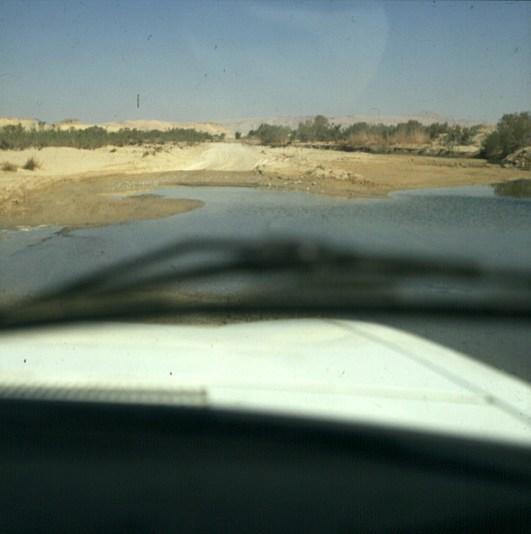 aegypten-sinai-wasserfurt 1981