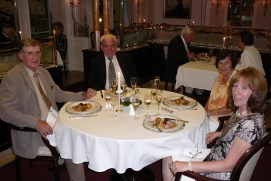 Traumschiff- Edelrestaurant Vier Jahreszeiten 2012