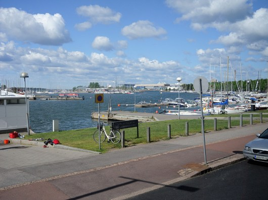 baltikum helsinki-yachthafen