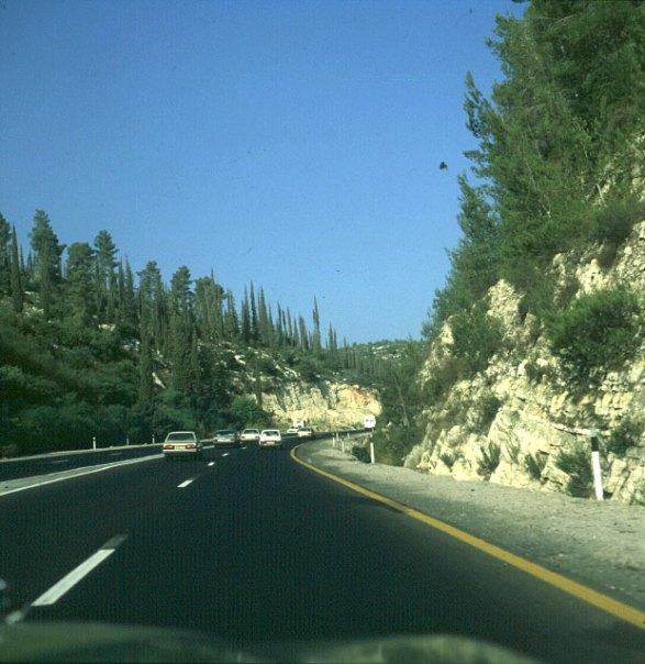 Jerusalem-Fahrt vom Airport