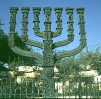 Jerusalem-Parlament-Menorah