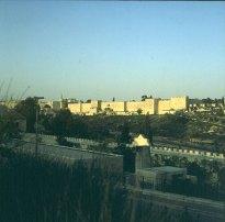 Jerusalem-Altstadtmauern