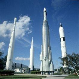 Kennedy-Spacecenter-Freigelände