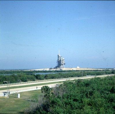 Kennedy-Spacecenter-Rampe Spaceshuttle