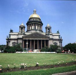 Leningrad-Isaakkathedrale 1988
