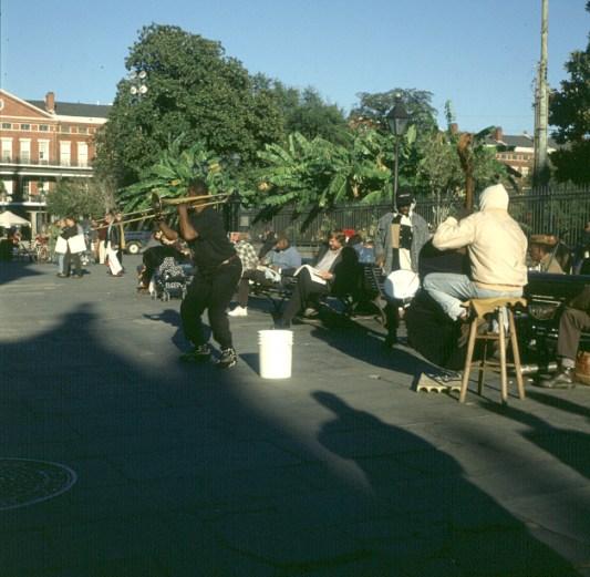 New-Orleans-Jazz trotz Kühle
