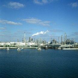 New-orleans-Raffinerie in Missisippimündung