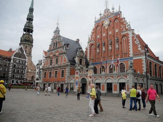 baltikum riga-tallin-marktplatz 2015