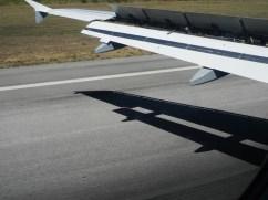 Landung in Lissabon