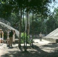 Yucatan-Ballspielplatz