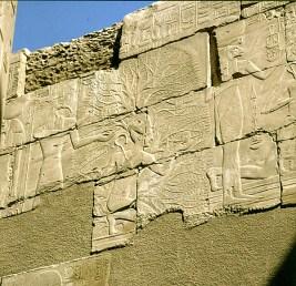 Karnak Ahnentafel Nordwand