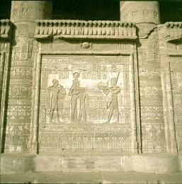 Dendera- Mamisi-Cleopatra/Cäsarion